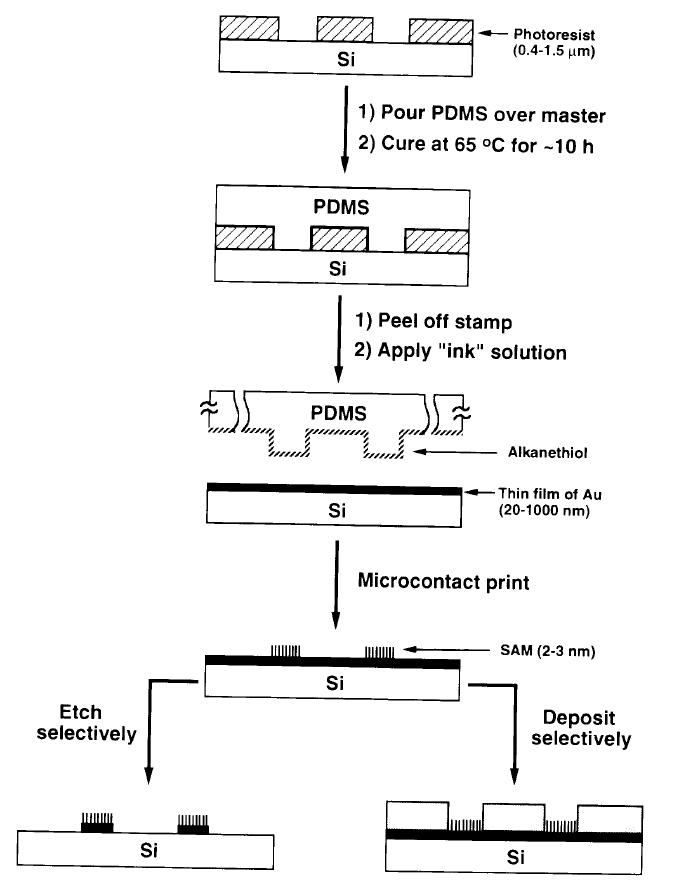 微接触印刷法